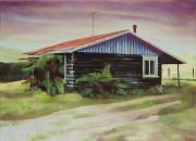 Paul Barnett Home II oil on canvas 80 cm x 110 cm 2008