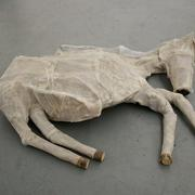 Foal 2009 Rani Sasson Mixed media 110 cm (l) x 100 cm (w) x 40 cm (ht)